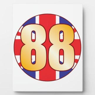 88 UK Gold Plaque