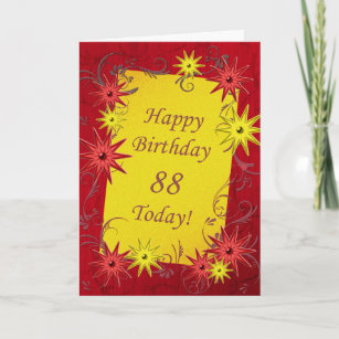 88th Birthday Cards
