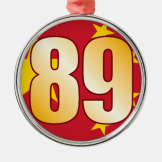 89 CHINA Gold Christmas Ornament