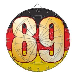 89 GERMANY Gold Dartboard