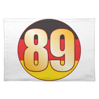 89 GERMANY Gold Placemat