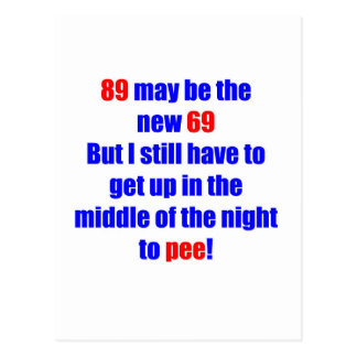 89 new 69 post card