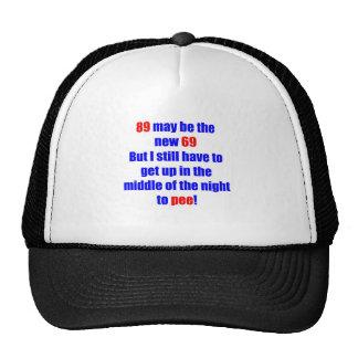 89 new 69 trucker hat