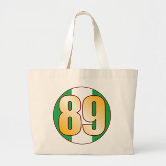 89 NIGERIA Gold Jumbo Tote Bag