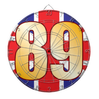 89 UK Gold Dartboard