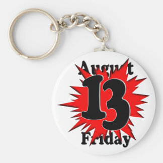 8-13 Friday the 13th Key Chains
