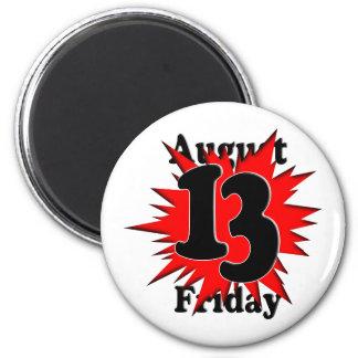 8-13 Friday the 13th Fridge Magnet