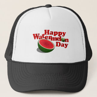 8-3 Watermelon Day Trucker Hat