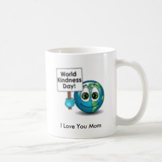 8_4_58, I Love You Mom Basic White Mug