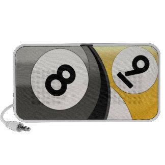 8 and 9 Billiard Balls Mini Speakers