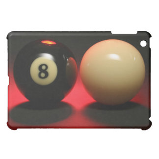 8 Ball and Cue Ball Case For The iPad Mini