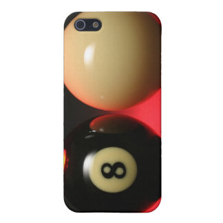 8 Ball and Cue Ball iPhone 5 Cases