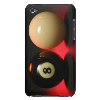 8 Ball and Cue Ball iPod Touch Case