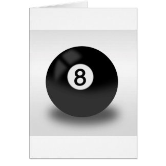 8 Ball - Billiards Card