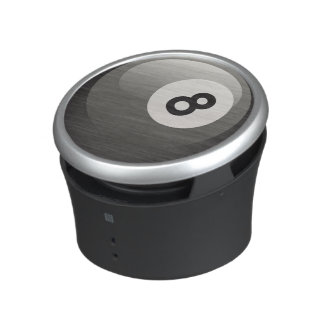 8 Ball Black Billiards Ball Bluetooth Speaker