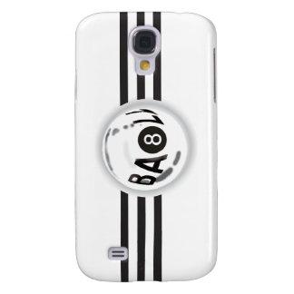 8 Ball Black Stripes Galaxy S4 Case