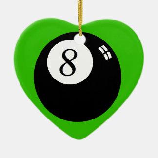 8 Ball Christmas Ornament