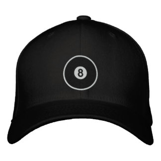 8 Ball Embroidered Hat