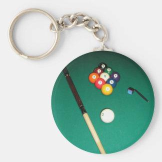 8 Ball Game Key Ring