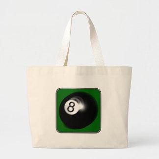 8 Ball Jumbo Tote Bag