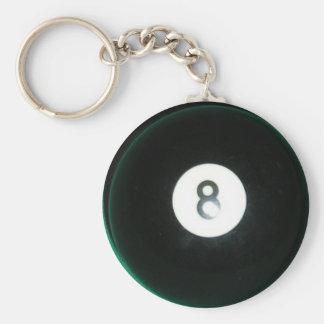 8 Ball Key Ring