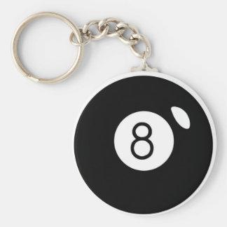 8 ball keychain