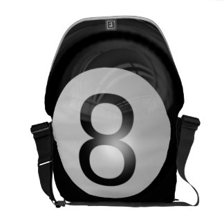 8 Ball Courier Bag