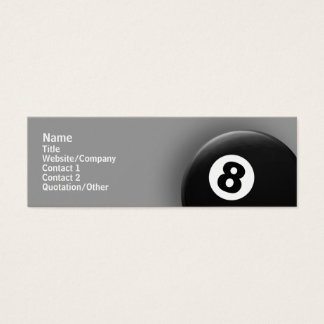 8 Ball Mini Business Card