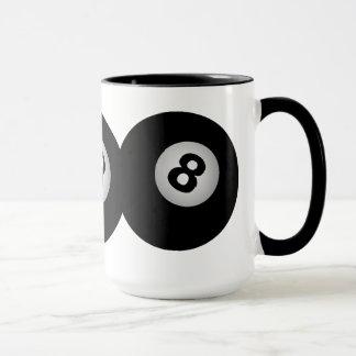 8 Ball mug - choose style & color