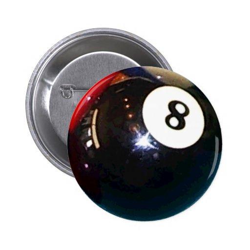 8-Ball Pool Ball Button