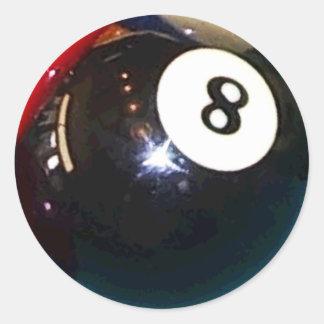 8-Ball Pool Ball Stickers