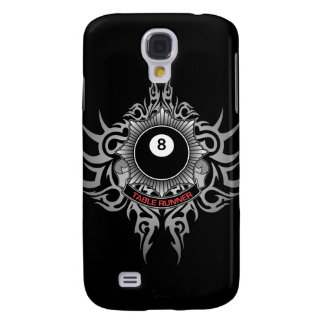 8 Ball Table Runner - Red Galaxy S4 Case