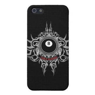 8 Ball Table Runner - Red iPhone 5 Case