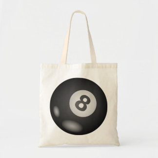 8 Ball Tote Bags.