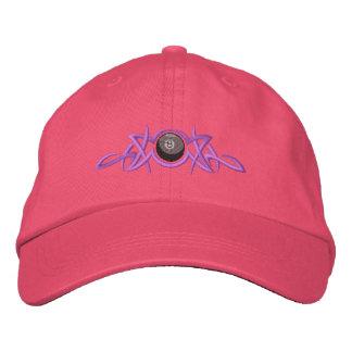 8- Ball Tribal Embroidered Baseball Cap