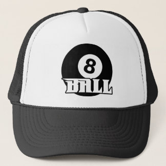 8 Ball Trucker Hat