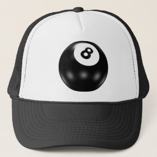 8 Ball Trucker Hat. Trucker Hat