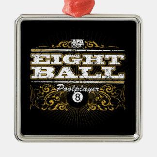 8 Ball Vintage Design Christmas Ornament