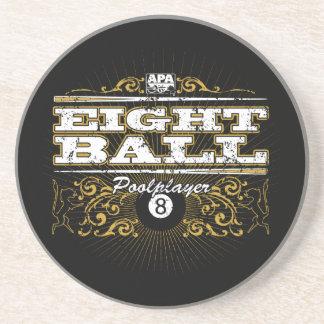 8 Ball Vintage Design Coaster