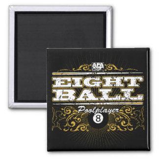 8 Ball Vintage Design Magnet