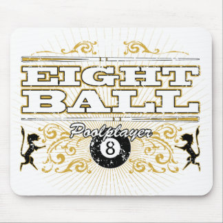 8 Ball Vintage Design Mouse Mat