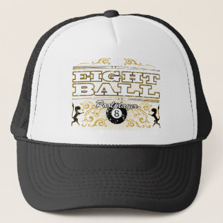 8 Ball Vintage Design Trucker Hat