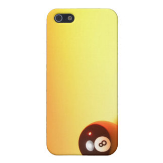8 Ball Yellow Background Case For The iPhone 5
