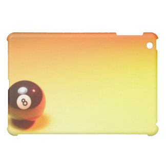 8 Ball Yellow Background iPad Mini Cover
