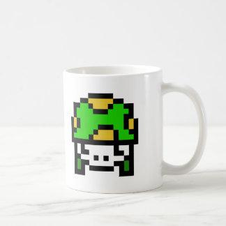 8 Bit Army Basic White Mug