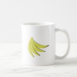 8 Bit Bananas Basic White Mug