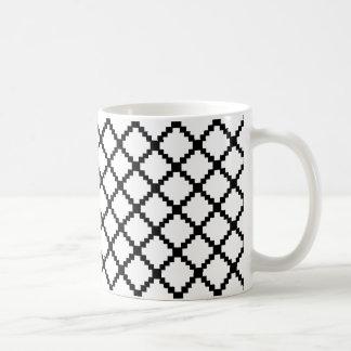 8 bit basic white mug