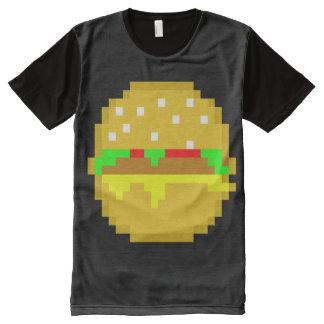 8 Bit Burger All-Over Print T-Shirt