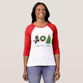 """""""8-Bit Christmas"""" T-Shirt/Misc Apparel T-Shirt"""
