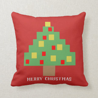 8-bit Christmas tree Cushion